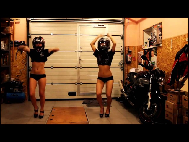 Dance Bikers женский ответ танцующим байкерам Мотоциклы и мотоциклисты