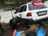 Переправа авто через р Чуя в районе Маашей 2008г (полная версия)