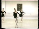 Pas Glissade and Echappes. Allegro exercise. Ballet Lessons.