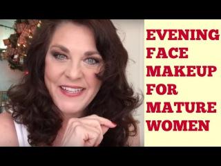 Evening Makeup for Mature Women