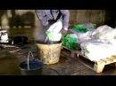 Нанесение материала ЛАХТА® проникающая гидроизоляция механическим способом