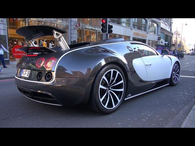 $3.5 Million Bugatti Veyron 16.4 Mansory Vivere in London!