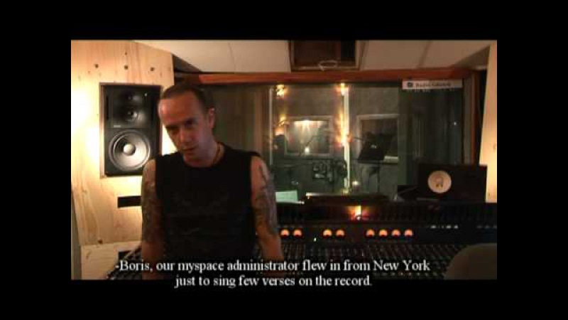 BEHEMOTH - Episode IV - Vocal Tracking 2009 e.v. (OFFICIAL BEHIND THE SCENES)