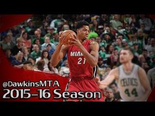 Hassan Whiteside Full Highlights 2016.02.27 at Celtics - 13 Pts, 15 Rebs, 8 Blks!