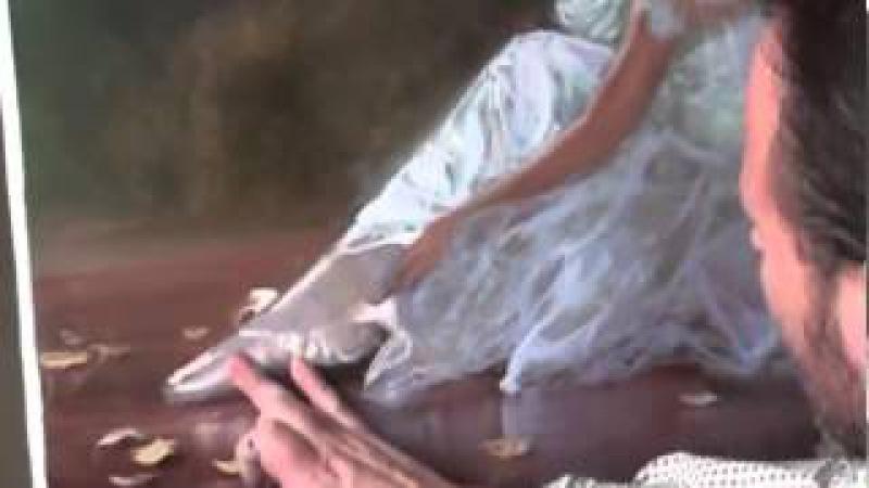 ПОЛНЫЙ Видеоурок Игоря Сахарова БЕСПЛАТНО Пишем балерину Живопись маслом