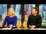 Live! With Kelly and Michael 04/06/16 Melissa McCarthy; Jon Favreau; co-host David Duchovny