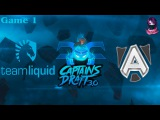 Team Liquid vs The Alliance #1 (bo3) (Ru) | Captains Draft 3.0 (15.02.2016) Dota 2
