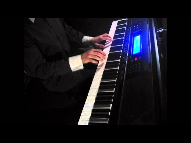 BBC Sherlock - Sherlocks Theme - on piano (The Science of Deduction) [Classic Dark Style]
