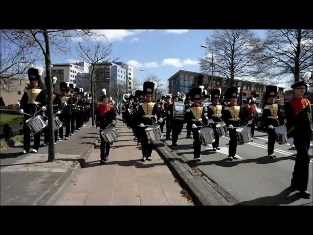 Adest Musica Sassenheim - Red Alert 3 Special / Soviet March - 2013