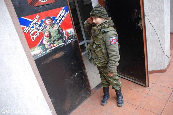 В «ЛНР» девятилетняя Богдана из Алчевска служит в бригаде «Призрак» (ФОТО), фото-2