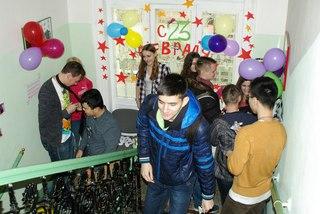 Вечеринка чешских сту