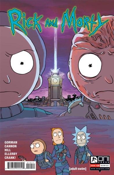 Добавлен свежий номер комикса Rick and Morty