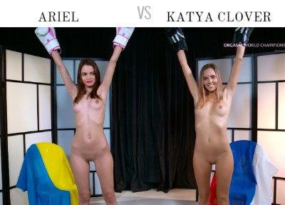 Ariel vs Katya Clover