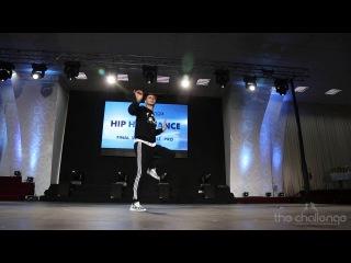 FRONTROW | Solo Adult Pro Hip Hop | Alexandr Vasilyev |  The Challenge Dance Championship