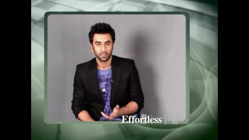 Ranbir Kapoor - the New Face of Cool by John Players