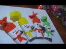Новогодние подарки Новогодняя поделка Игрушки Снеговик Конфетка Поделки своими руками