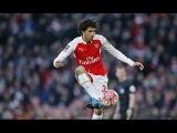 Mohamed Elnenny debut for Arsenal vs Burnley 30/1/2016