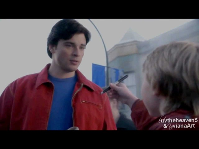 Smallville: Clark Kent [Everyday Superhero by Smash Mouth] (collab w/ YvianaArt!!)