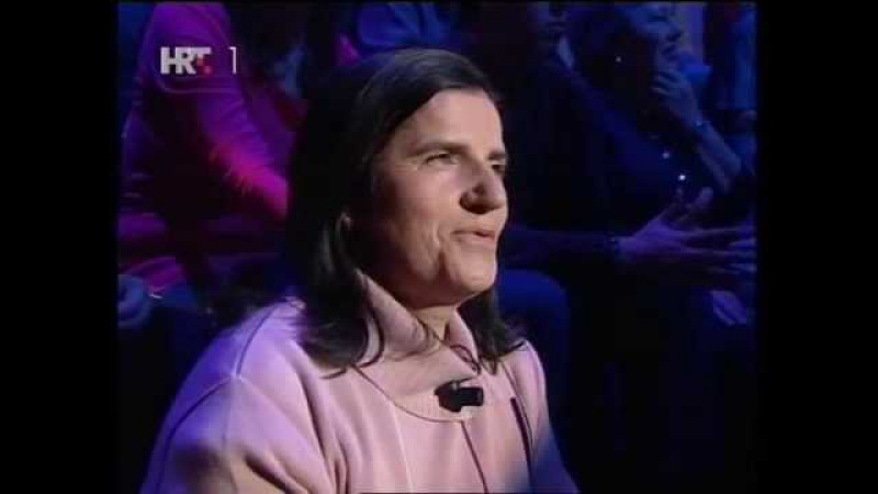 Kviz Tko želi biti milijunaš Who Wants To Be A Milionare Croatia HRT1