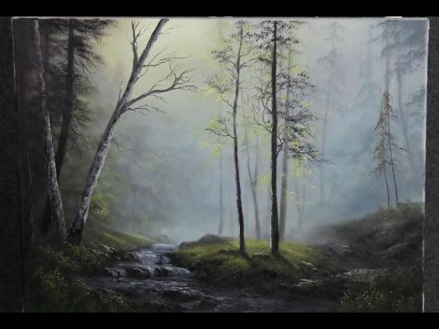 Paint with Kevin Hill - Glistening Forest Creek