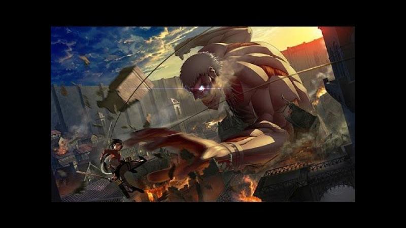 Armored titan theme from Shingeki no kyojin OST Mika Kobayashi HD