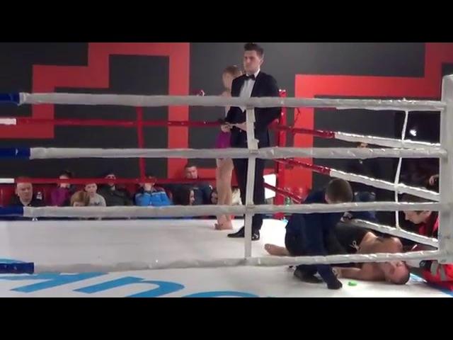Fedonov Oleksii VS Suvorov Oleksii (black shorts) BFFC's VI.3 semifinal -65,8 kg