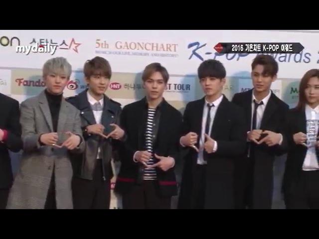 '가온차트' 아이콘(iKon)·세븐틴(Seventeen), 2016년이 기대되는 대세 아이돌 [MD동영상]
