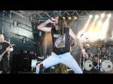 Malevolent Creation - Eve of the Apocalypse - Hellfest 2011 (