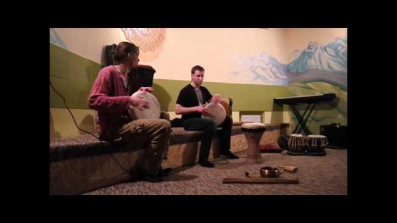 Дуэт дохол (часть 2) Илья Филиппенко и Алексей Булаш в Drum Space