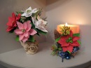 Цветы из фоамирана. Мастер класс. Пуансеттия.