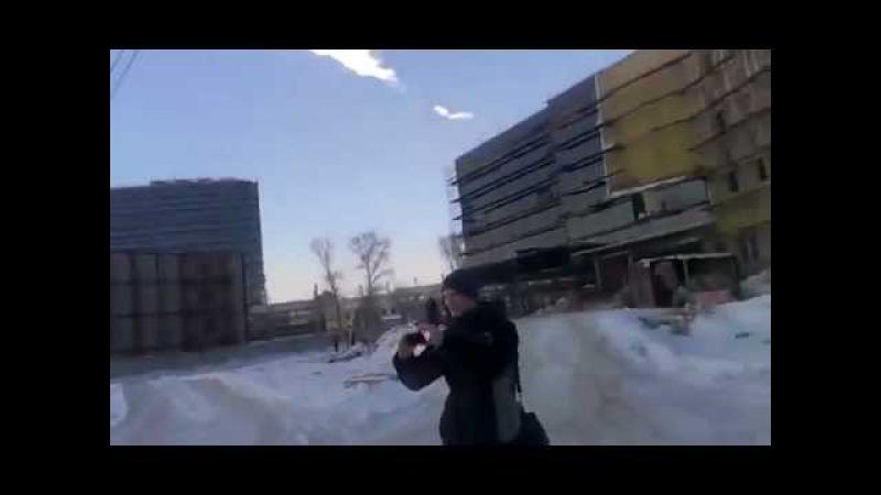 Реакция простого парня на метеорит ( Челябинск ).