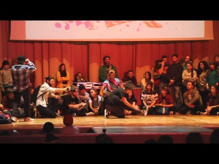 FUNKY MAN 8 | BGIRLS 1/2|  vs Alya