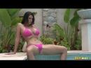 Alison Tyler Big Boobs Sexy Bikini - так и не искупалась