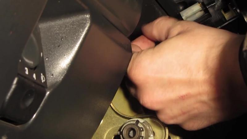 Замена замка зажигания ВАЗ 2110, 2111, 2112, Калина, Гранта, Приора, 2114 и 2115