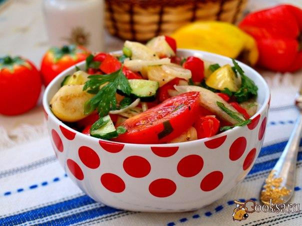 Вкусные рецепты летних салатов с фото