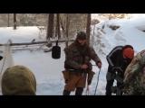 Курс выживания, зимний - Халилов Эд на оз.Аракуль - январь. (Симонов Сергей)