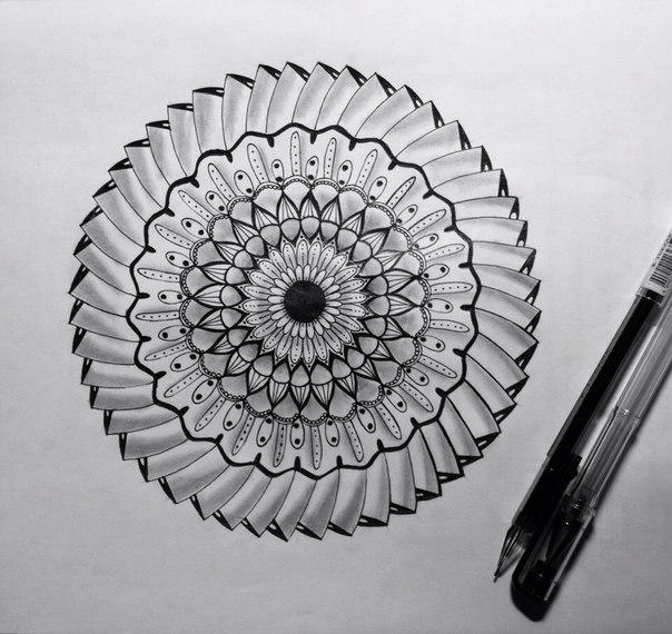 #zentangle #zenart #doodling #зентангл #зенарт #дудлинг