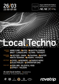 26/03 LOCAL.TECHNO 8.0 @ Contour Family