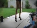 Девушка классно танцует! на каблуках