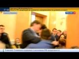 Одесса. Зама Саакашвили вынесли с трибуны горсовета вперед ногами...)