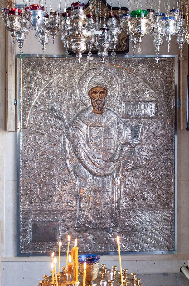Икона свт.Спиридона в г.Ломоносов