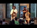 Kamasi Washington and Miles Mosley Perform LIVE on AOL BUILD