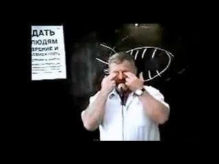 В.Г.Жданов показывает как делать массаж глаз. Естественное восстановление зрения