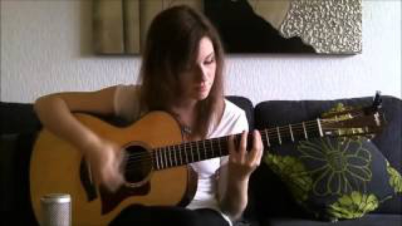 Девушка сильно мочит на гитаре!! Nirvana - Smells Like Teen Spirit