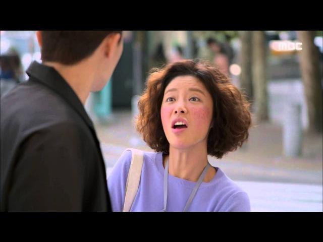 [She was pretty] 그녀는 예뻤다 ep.8 - Park Seo-jun reacts Hwang's voice 20151008