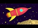 Яйцо с сюрпризом собираем ракету Мультфильм конструктор Развивающие мультики для самых маленьких
