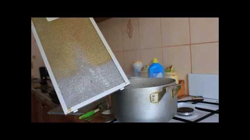 Как почистить вытяжку от жира.
