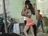Эротическая Ламбада в обычной школе(Лат.Америка).Mayara & Bruno Dançando Lambada