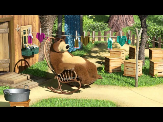 Маша и Медведь Песенка про умывание