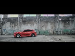 Renegade Infiniti FX 50S  Omega Red  Vossen CV3 Concave Wheels